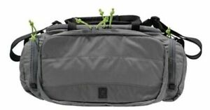 Grey Ghost Gear Range Bag 1260 cubic inches Lime Green Zipper Pulls: 60200-18