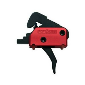 Patriot Ordnance 00516 Red Single Stage EFP Drop-In Trigger 4lb Pull 223 Rifle