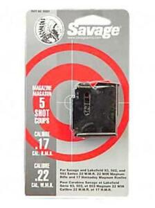 Savage 90001 93-Series .22 Mag.17 HMR 5-Round Factory Replacement Magazine
