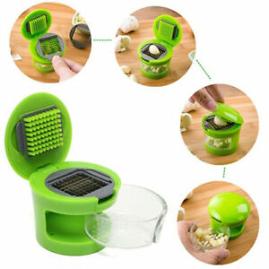 New Multi-Functional Ginger Chopper Plastic Stainless Steel Garlic Press Kitchen