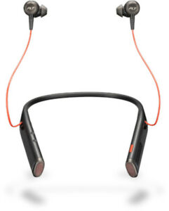 Plantronics Voyager 6200 UC mobile headset Binaural In-ear Neck-band Black Wire