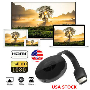 HDMI Wireless WIFI TV Stick 1080P Display Mobile phone Portable Receiver New 2nd
