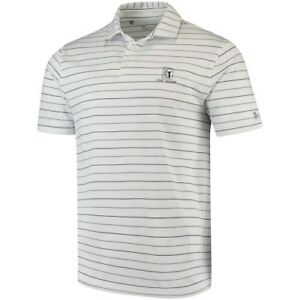 Under Armour TPC River Highlands White Performance Stripe 2.0 Polo