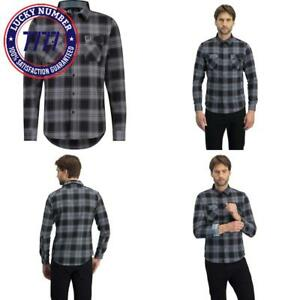Jolt Gear Dry Fit Flannel Shirt For Men - Long Sleeve Plaid Flannels With Stretc