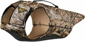 Browning Dog Vest 3mm Neoprene Whandle Max5 2x-large 70-80lb: P11690199