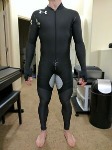 FULL BODY Rubber Speedskating suit TEAM USA Under Armour speedsuit Joey Mantia