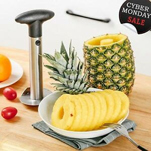 Professional Stainless Steel Pineapple Corer Cutter Slicer Peeler - Best Slice