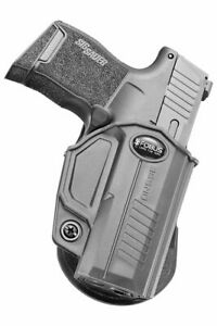 Fobus Evolution Holster, Paddle, Right Hand, Sig Sauer P365, Black, 365ND