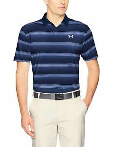 Under Armour Men's CoolSwitch Bermuda Stripe Polo - Choose SZColor