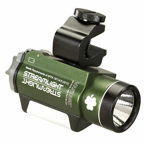 Streamlight Vantage with White and Green LED Helmet Mounted Tactical Light