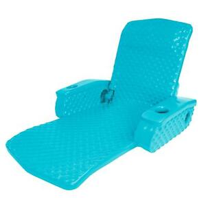 Texas Rec Tropical Teal Super Soft™ Adjustable Recliner Pool Lounge Chair