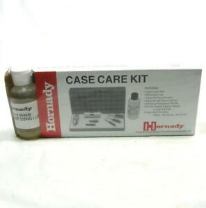 Hornady Case Care Kit Sizing Lube Pad Tray Deburring Tool Primer Pocket Cleaner
