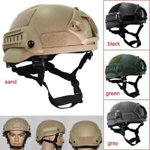 Outdoor Airsoft Military Tactical Combat Riding Hunting MICH2002 Helmet New
