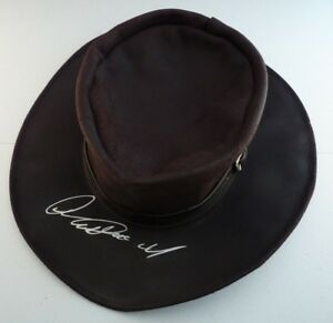 CLINT EASTWOOD Signed Autograph Good Bad Ugly Replica Leather Hat BAS Certified