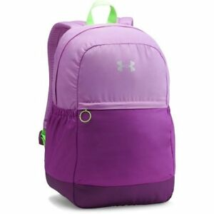 Under Armour Girls Storm Favorite Backpack Pink and Purple