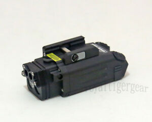 DBAL-PL Tactical FlashLight  Strobe  Torch  IR Illuminator  Laser - Black