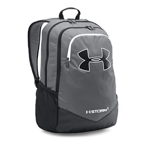 Under Armour Boy's Storm Scrimmage Backpack Graphite 040White One Size