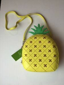 Kate Spade New York Pineapple Bag Purse Cross Body Crossbody How Refreshing 2017