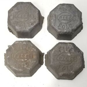 VTG ASARCO Five Fold Lead Alloy Ingots 19 Lbs 8 Oz Total Weight Casting Sinkers