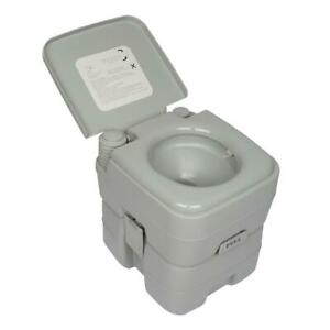 20L Portable Camping Toilet Flush OutdoorIndoor Potty Commode Garden Hiking