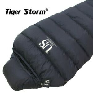 Tiger Storm US Extreme Cold Goose Down Sleeping BagNavy Color Camping Gear