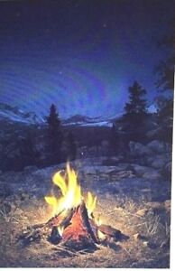 MOUNTAIN CAMPFIRE Artist Proof #1520 (Giclee Canvas 36