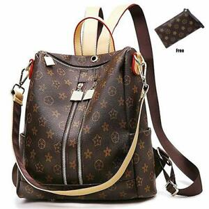 Casual Purse Fashion School Leather Backpack Crossbady Shoulder Bag Mini Back TN