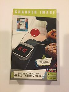 Sharper Image Bluetooth Smartphone Grill Thermometer-IOS/Android Capability