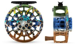 ABEL SDF SEALED DRAG FRESH #45 WT FLY REEL DEYOUNG BROWN FLANK FREE $130 LINE