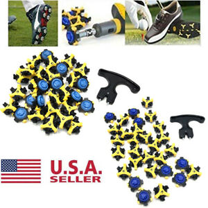 30x Soft Golf Shoe Spikes Replacement Champ Cleat Fast Twist Tri Lok For Footjoy