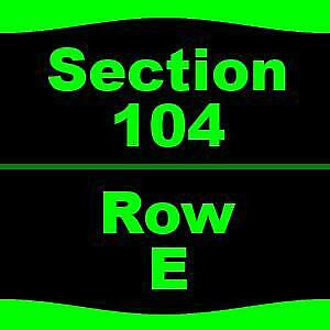 1-5 Tickets Bob Seger And The Silver Bullet Band 66 DTE Energy Music Theatre Cl