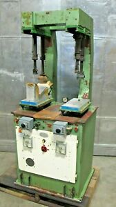 Shoe Repair Press Pressing Leather Machine Made in ITALY $3750.00