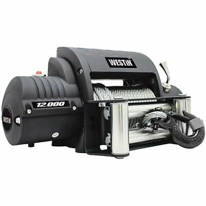 Westin 47-2203 Off-Road Series Winch 12 000lbs Line Pull 6.6 HP Motor 38 Steel