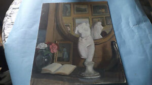 Antique Style Caubrillar Artist Paris Paintings Oil Art Europe Rare Fine Design