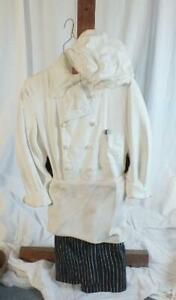 CONTEMPORARY ART SCULPTURE OF HANGING CHEF WHITES BY JOE AVARISTA #'D 1050