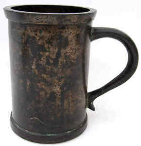 An English Bronze Standard Quart Measure 18th Century Winchester type