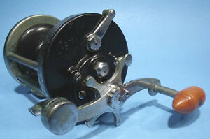 NICE USED EARLY PENN REELS 200 SURFMASTER CONVENTIONAL FISHING REEL READY TO USE