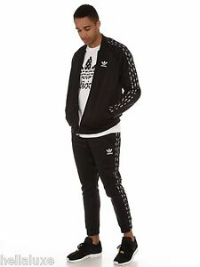 nwt~Adidas SHELL-TOE TRACK SUIT JACKET Sweat Shirt superstar Top-PANTS~Mens sz M
