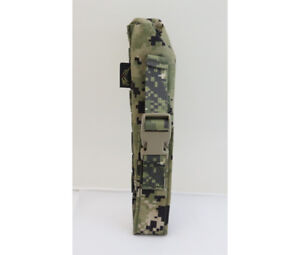 FLYYE MOLLE Single Pop Flare Pouch – AOR2 US Navy Seal Woodland Camo SF