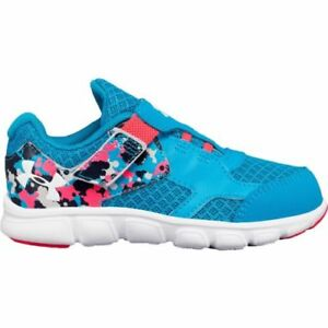 NIB Girls Under Armour Thrill Running Sneakers Shoes 8 9 10 NEW Blue Pink $29.99