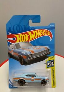 HOT WHEELS 68 CHEVY NOVA - HW SPEED GRAPHICS -NEW IN CARD