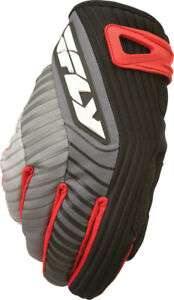 FLY SNOW TITLE GLOVES SHORT BLACK/RED SZ 8 #5884 367-020~08