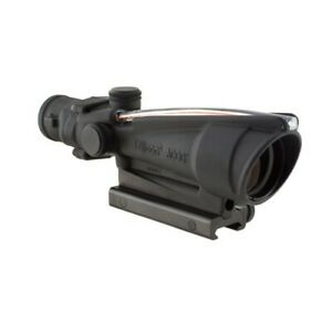 Trijicon TA11H ACOG Red Horseshoe Reticle 223 Black 3.5x35 Rifle Scope