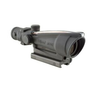 Trijicon TA11F ACOG Red Chevron Reticle 223 Black 3.5x35 Rifle Scope