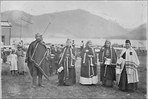 Poster Many Sizes; Group In Native Dress Taken On Occasion Of Edward Marsden'S