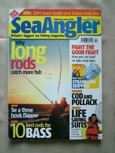 SEA ANGLER FEB 05 WHY LONG FORD CATCH MORE FISH 10 BEST RODS FOR BASS