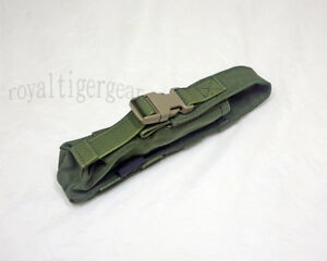 FLYYE MOLLE Single Pop Flare Pouch –  Black Coyote Brown Khaki OD Ranger Green