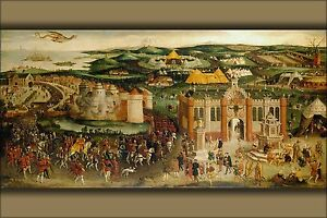 Poster Many Sizes; Field Of The Cloth Of Gold By Hans Holbein The Younger 1545