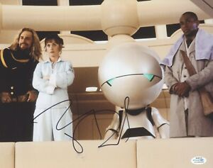 Hitchhikers Guide to Galaxy Zooey Deschanel Autographed Signed 11x14 Photo COA