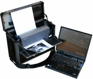 Office Travel IBM Thinkpad T60 Bluetooth & Hpprinter Deskjet & Pilot Case Mm